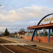 Stock Photo: Provincial railway station in Zaslavl