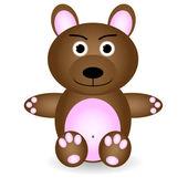 Teddy bear — Wektor stockowy