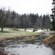 Stock Photo: View of Slav river in Pavlovsk park