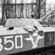 Soviet armored troop-carrier — Lizenzfreies Foto
