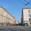 Street in the central part of Minsk — Stock Photo #8110997