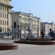 Street in the central part of Minsk — Stock Photo