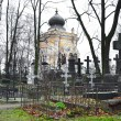 Nikolskoye cemetery — Stock Photo