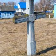 Old grave cross in David-town — Stock Photo #8159606