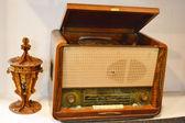 старое радио — Стоковое фото