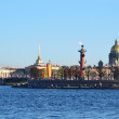 Arrow Vasilevsky Island, St.Petersburg — Stock Photo