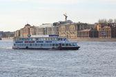 View of Neva river, St.Petersburg — Stock Photo