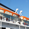 Fragment of river cruise ship — Stock Photo #8270411