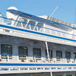 Fragment of river cruise ship — Stock Photo #8270480