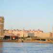 October embankment and Neva river — Stock Photo