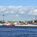 Embankment of the Neva river, St.Petersburg — Stock Photo #8352224