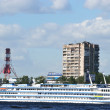 Embankment of the Neva river, St.Petersburg — Stock Photo