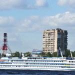 Embankment of the Neva river, St.Petersburg — Stock Photo #8352233