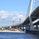 Embankment of the Neva river, St.Petersburg — Stock Photo #8352234