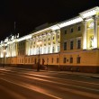 Senate and Synod building at night — Stock Photo