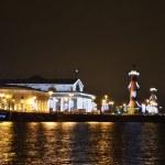 圣彼得斯堡,晚上特森特拉尼岛 — 图库照片