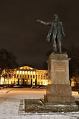 Monument to A. Pushkin on Arts Square — Stock Photo