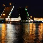Palace Bridge at night — Stock Photo #8498818