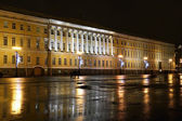 The Palace Square at night — Stock Photo