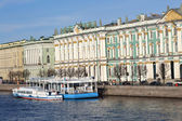 View of the Palace Embankment — Stock Photo