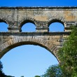Ancient aqueduct in France — Stock Photo #10172136