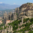 meteora monastery in greece — Stock Photo #10470529