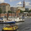 View of Hamburg - Stock Photo