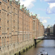 Canals of Hamburg — Stock Photo
