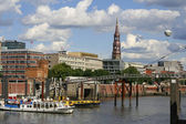 View of Hamburg — Stock Photo