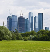Moscow, modern buildings — Stock Photo