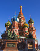 Moscow, St. Basil's cathedral — Stock Photo