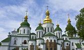 Catedral de kiev, na ucrânia, sofiyiskiy — Foto Stock