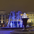 Moscow, electric fountains - Stock Photo