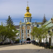 Kiev, Ukraine, Kievo-Pecherskaya lavra monastery - Stock Photo