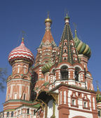St. Basils's (Pokrovskiy) cathedral, Moscow — Stock Photo