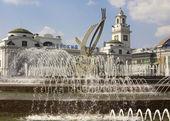 Moskou, plein van europa — Stockfoto