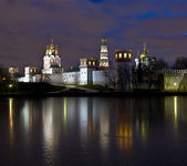 Moscow, Russia - December 06, 2011: Novodevichiy monastery — Stock fotografie