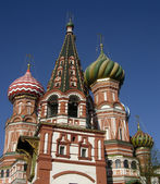 St. Basil's (Pokrovskiy) cathedral, Moscow — Stock Photo
