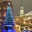 Moscow, Christmas tree - Stock Photo