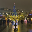 Moscow, Christmas trees — Stock Photo #8139961