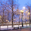 Stock Photo: Winter morning in Moscow