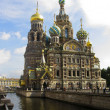 Stock Photo: St. Petersburg, cathedral of Jesus Christ on blood
