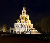 Moscow, church of St. Mary in Fili — Stock Photo