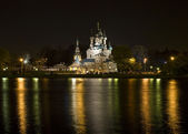 Moscow, Trinity church in mansion Ostankino — Foto de Stock