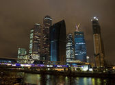 Moscow, business centre Moscow-city — Stock Photo