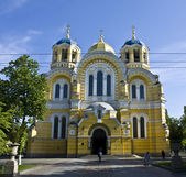 基辅,乌克兰,夫拉迪米洛卡大教堂 — 图库照片