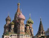 Aziz basil (pokrovskiy) katedrali, moskova — Stok fotoğraf