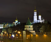 Moscow, Kremlin cathedrals — Stock Photo