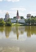 Moscow, Novodevichiy monastery — 图库照片