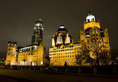Moscow, business centre — Stock Photo